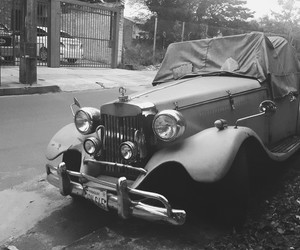 blackandwhite, car, and curves image