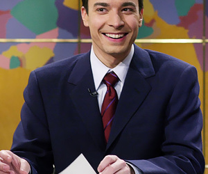 snl, weekend update, and jimmy fallon young image