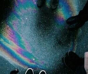 grunge, rainbow, and tumblr image