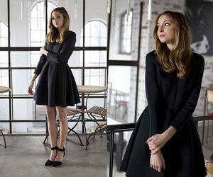 fashion, style, and black dress image