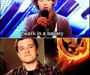 Harry Styles, one direction, and josh hutcherson image