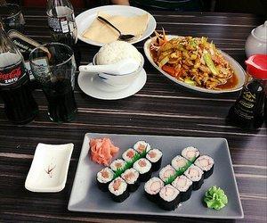 cocacola, prague, and sushi image