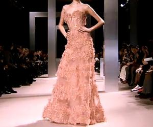 designer, runway, and dress image
