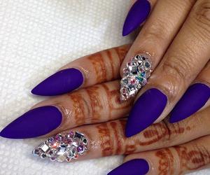 nails, girly, and henna image
