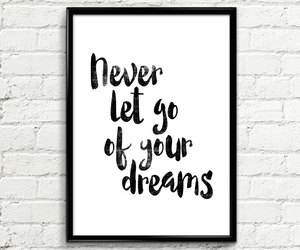 home decor, motivational poster, and wall art image