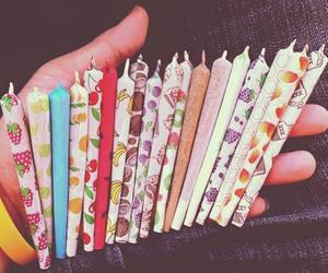 weed, smoke, and joint image