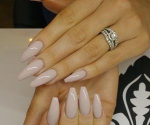 diamonds, jewelry, and long nails image