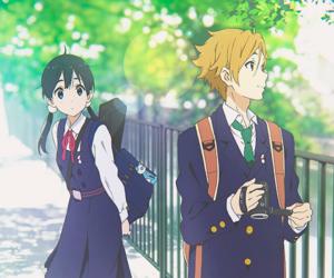 anime, tamako market, and boy image