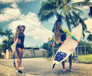 peace, surf, and summer image