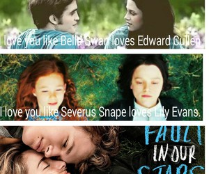 harry potter, twilight, and edward bella image