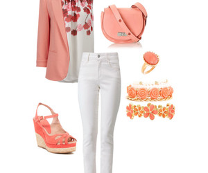 blazer, sandals, and bracelet image