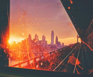 city, indie, and hippie image