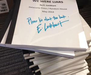 lie, love it, and we were liars image