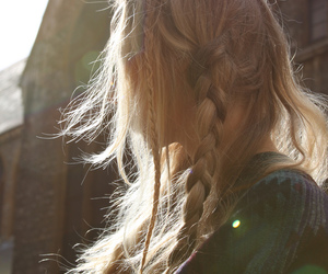 blonde and braid image