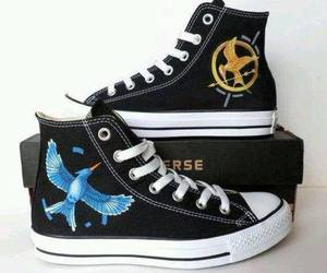 converse, the hunger games, and hunger games image