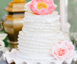 cake, cakes, and wedding image