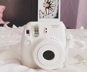 polaroid, white, and camera image