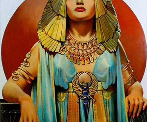 cleopatra and gold image