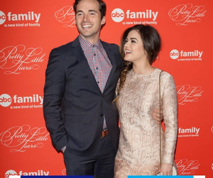 actor, lucy hale, and ian harding image