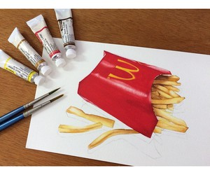 art, draw, and realistic image