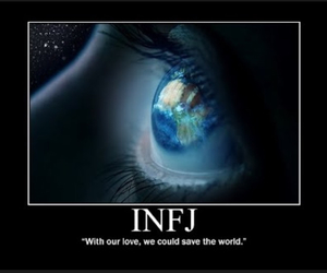 save the world and infj image