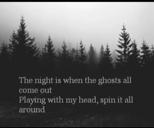 forest, the pretty reckless, and night image