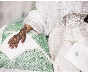 henna, mariage, and oriental image