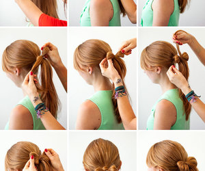 diy, hair tutorial, and do it yourself image