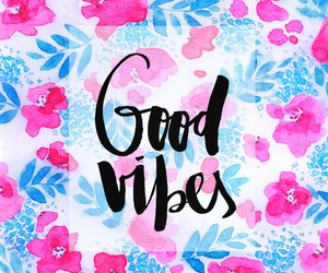 wallpaper, flowers, and good vibes image