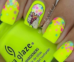 colorful, girly, and ice cream image