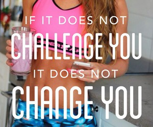 motivation, challenge, and exercise image