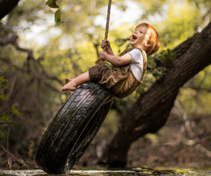 kid, nature, and cute image