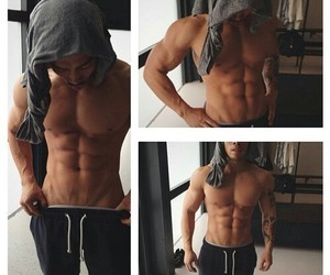 abs, muscular, and boy image