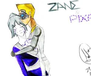 zane, ninjago, and pixal image