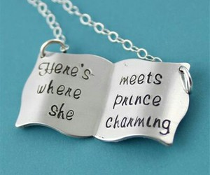 necklace, cute, and love image