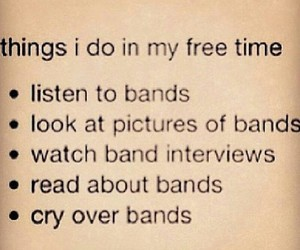 bands and free time image