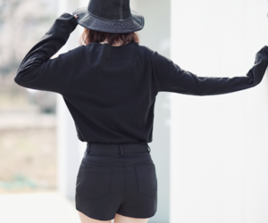 black and clothes image
