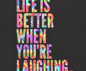 life, laugh, and laughing image