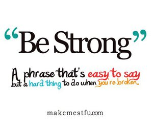 quote, strong, and text image