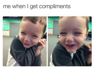 funny, compliments, and lol image
