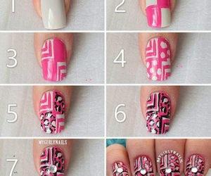 tutorial, diy, and nail art image