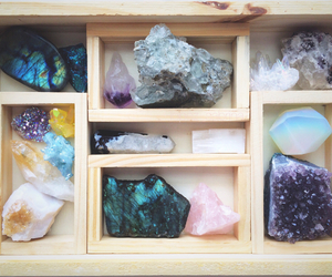 crystal, stone, and mineral image