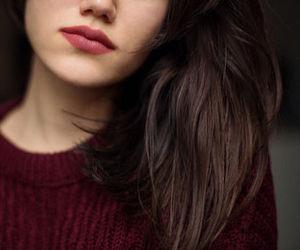 lips, fashion, and girl image