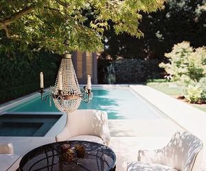 pool, luxury, and garden image