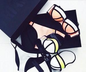 triangl, bikini, and summer image