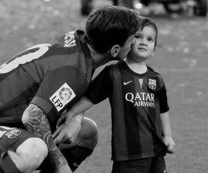 messi, Thiago, and Barcelona image