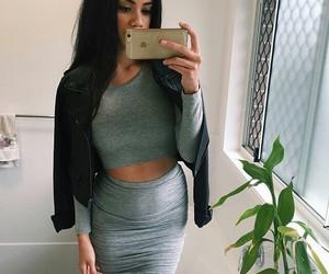 fashion, girl, and beauty image