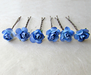 flowers, accessories, and blue image