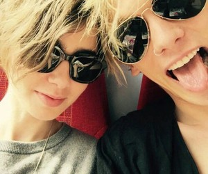 forever, jamie campbell, and lily collins image