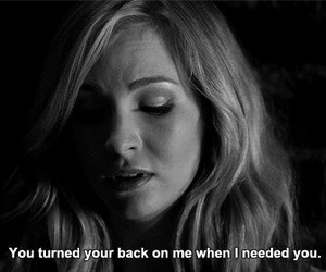 quote, the vampire diaries, and sad image